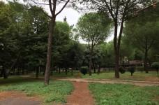 parco in via Antonio Ciamarra